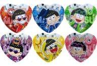 全6種セット 「セガのたい焼き×おそ松さん ハート型缶バッジ~パリピver.~」