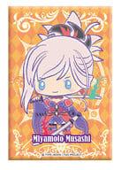 セイバー/宮本武蔵 スクエア缶バッジ2 Design produced by Sanrio 「Fate/Grand Order×サンリオ」