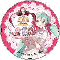 初音ミク(全員集合) characters Macaron 発売記念グッズ 缶バッジ 「VOCALOID×不二家」