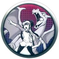 リザードン&メイ 「ポケットモンスター 缶バッジ Pokemon EX Drawing -Yusuke Murata-」 ポケモンセンター限定