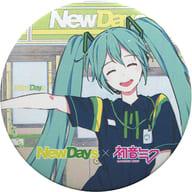初音ミク(NewDays/賀茂川) 「NewDays×初音ミク ナツキタ2019 北海道フェア描き下ろし 缶バッジ」