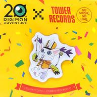 テイルモン ピンズ 「デジモンアドベンチャー 20th Anniversary×TOWER RECORDS CAFE ~集まれ!選ばれし子ども達~」