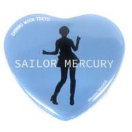 セーラーマーキュリー 「美少女戦士セーラームーン -SHINING MOON TOKYO- ブラインドハート缶バッジ」