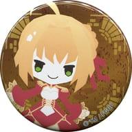 セイバー/ネロ・クラウディウス 「Fate/Grand Order Design produced by Sanrio×カラオケの鉄人 Vol.1 トレーディング缶バッジ」