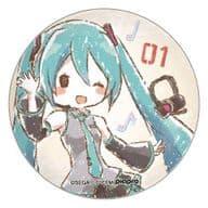 初音ミク 「缶バッジ 初音ミク -Project DIVA- 02.グラフアートデザイン」