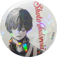 "Todoroki Shoto All Star Can Badge ""My Hero Academia"" Jump Characters Store Limited"