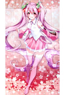 桜ミク 描き下ろしマルチクロス 「キャラクター・ボーカル・シリーズ 01 初音ミク」