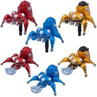 "All six sets ""Ghost in the Shell Tachikoma Earphone Jack Mascot"""
