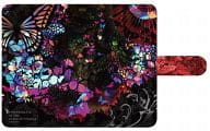 "Sweets Time Collection notebook type smart case S size ""Black butterfly psychedelica"""
