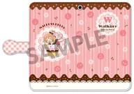 "Freya Vion (Sweet Pop Walkure) Pukururi! Notebook type smartphone case ""Macross Delta"""