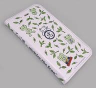 """Pickle (tea pattern) Notebook-type iPhone6 / 6s cover """"Ishikawaen x pickles the frog-"""""""