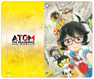 "B. Yellow notebook type smart case ""Atom the Beginning"""