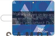 "Blue notebook type iPhone case ""Re: CREATORS"""