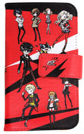 "Meeting (Character) Graph Art Design Notebook Type Multi Case ""Persona 5"""