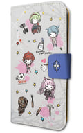 "Squirrel design 02 graph art design notebook type smartphone case (iPhone 6/6/7/8 combined use) """" absolute despair Girl Danganronpa Another Episode """""