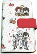 "03. Red (Scene shooting ver.) Graph art design Notebook type multi case ""Bungo Stray Dogs DEAD APPLE"""