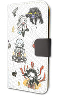 """02. Black (scene shooting ver.) Graph art design Notebook type smartphone case (iPhone 6 / 6s / 7/8 combined use) """"Bungo Stray Dogs DEAD APPLE"""""""