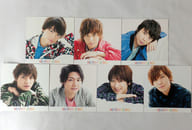 "[Single item] Kis-My-Ft 2 jacket size solo photo card (7 pieces) ""CD AAO Kiss Mai SHOP board"" Enclosure privilege"