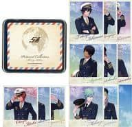 """Shining AirLINES canned postcard set """"Uta no ☆ FLORENCE B. PRINCE ♪ ♪"""""""