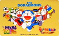 """(※ There are multiple scratches on the surface) Doraemon / Dora the Kidd / El Matadora / 7 people in total """"Doraemon Nobita's spiral wound city adventure note / The ☆ Doraemons Kaito Dorapan mystery challenge form!"""" Gold"""