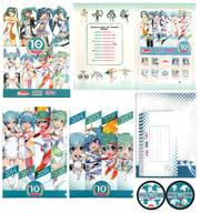初音ミク「82円切手10枚組 初音ミク [BOX/クリアファイル/他セット品付き]」 GTプロジェクト10周年記念