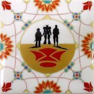 鉄血のオルフェンズ 平角皿 「機動戦士ガンダム 鉄血のオルフェンズ×九谷焼」 ガンダムカフェ限定