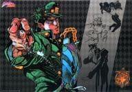 空条承太郎(横長/背景ブラック) ビジュアルマット 「一番くじ ジョジョの奇妙な冒険Part3 スターダストクルセイダース~やれやれだぜ~」 H賞