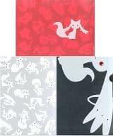 キュゥべえ A4クリアファイル3枚セット 「一番くじ 劇場版 魔法少女まどか☆マギカ」 H賞