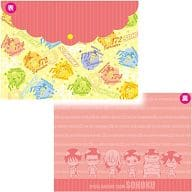 """Total North High School Ver. A4 Size Lidded clear file """"Wimpy pedal GRANDE ROAD"""""""
