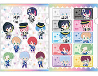 """Collective (whole body & individual) chipicco A4 Clear file 2 piece set """"B-PROJECT ~ beat * ambicious ~"""""""