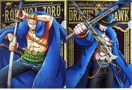 ゾロ&ミホーク A4描きおろしクリアファイルセット(2枚組) 「一番くじ ワンピース 20th anniversary」 L賞