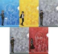 ヤマト&タケル&ヒカリ&丈&芽心 A5クリアファイルセットB(5枚組) 「デジモンアドベンチャー tri. MUSIC CAFE in アニON STATION Final Party!」