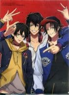 "Buster Bros !!! A4 Clear File ""Hypnosis Mike-Division Rap Battle-"" Otomedia 2019 May issue separate volume supplement"