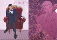 赤井秀一 A4クリアファイルセット(2枚セット) 「セガラッキーくじ 名探偵コナン Red Party Collection」 L賞