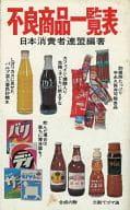 <<日本文学>> 不良商品一覧表 / 日本消費者連盟