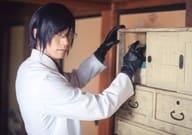 Kitamura Ryo (Kenken Fujiro) / Horizontal · Waist Up · White Cover · Right Orient · Character Shot / Stage 「「 Touken Ranbu 」Ehayuda Buraku Honnoji」 Personal Set Bromide