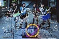 スフィア/集合(4人)/横型・印刷サイン・メッセージ入り・「2010.4.25 @徳島市文化センター」・ポストカードサイズ/『~Sphere's rings live tour 2010~』 徳島公演会場限定物販 CD購入特典ブロマイド