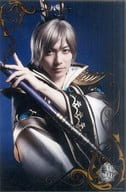 "Wada Takuma (Guo Jia) / upper body, six-sided wide size · Character shot / stage ""True · Dynasty Warriors (video game) Battle of the general public"" Large format bromide"