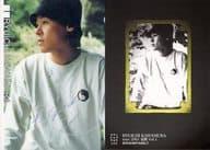 100 : 河村隆一/銀箔押しサイン入り/Concert Tour「覚醒」Vol.1 会場限定販売トレーディングカード