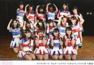 AKB48/集合(村山チーム4)/横型・2018年8月17日村山チーム4「手をつなぎながら」14:30公演/AKB48劇場公演記念集合生写真
