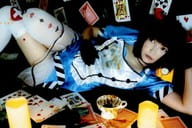 Roman / horizontal type / whole body / costume light blue · lying down right hand belly · left hand · cards · postcard size / recommended ★ random postcard photo