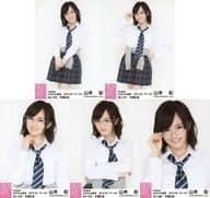 ◇ Yamamoto Aya / NMB 48 Yamamoto Aya Graduation Memorial Special Project Selected Life Photo 5 (No.476 / No.477 / No.478 / No.479 / No.480) 5 Types Complete Set