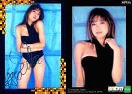 SP05 : 佐藤江梨子/銀箔押しサイン入り/sabra CARD COLLECTION YELLOW GIRLS