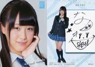 SPS53 : ☆鎌田菜月/直筆サインカード(/50)/SKE48 トレーディングコレクション part5