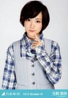 "Rina Ikoma / upper body / check shirt / ""2013.October-VI"" WEBSHOP limited student photo"