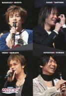 """Morita Seiichi, Taniyama Kisho, Ishikawa Hideo, Konishi Katsuyuki / DVD """"Neoromance Live 2005 Winter"""" Initial Encapsulated Photo Card"""