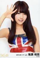 鬼頭桃菜/イギリス国旗衣装・上半身/「2013.05」ランダム公式生写真