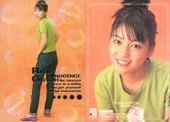 036 : 後藤理沙/スペシャルカード(パール・箔押し)/後藤理沙トレーディングカードRISARISA