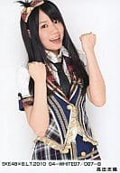 Takada Shiori / SKE 48×BLT 2010 04  - 白色07/007  -  B.