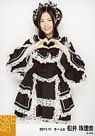 Matsui Zuzuna /檢查緞帶·膝蓋以上·心臟與手/ 2011.11 /官方生活圖片